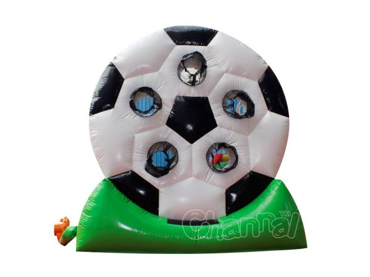 giant inflatable soccer shooting game board for sale