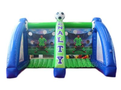 inflatable penalty kick football goal game