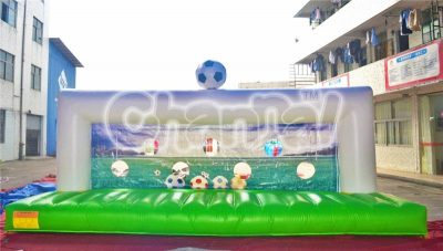 full size inflatable football field goal
