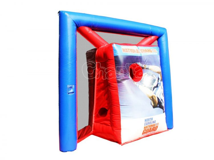 inflatable american football toss game