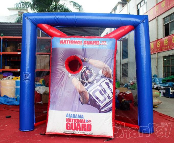 inflatable football toss for carnival