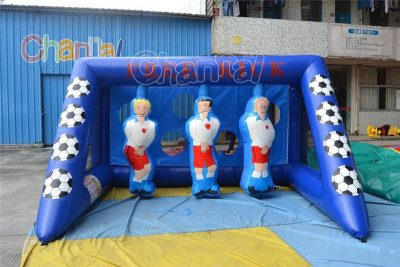 free kick inflatable soccer shootout for sale