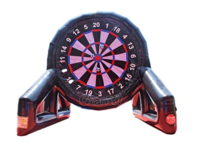 large inflatable football darts board