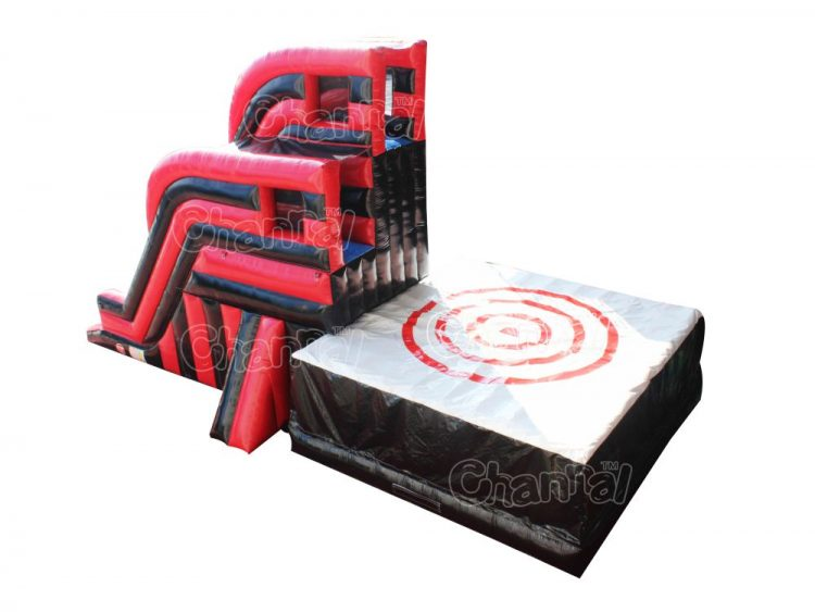 inflatable bullseye jump