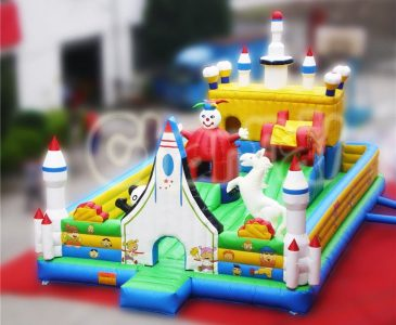 rockets inflatable fun city
