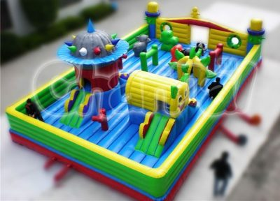 kids amusement playground inflatable fun city