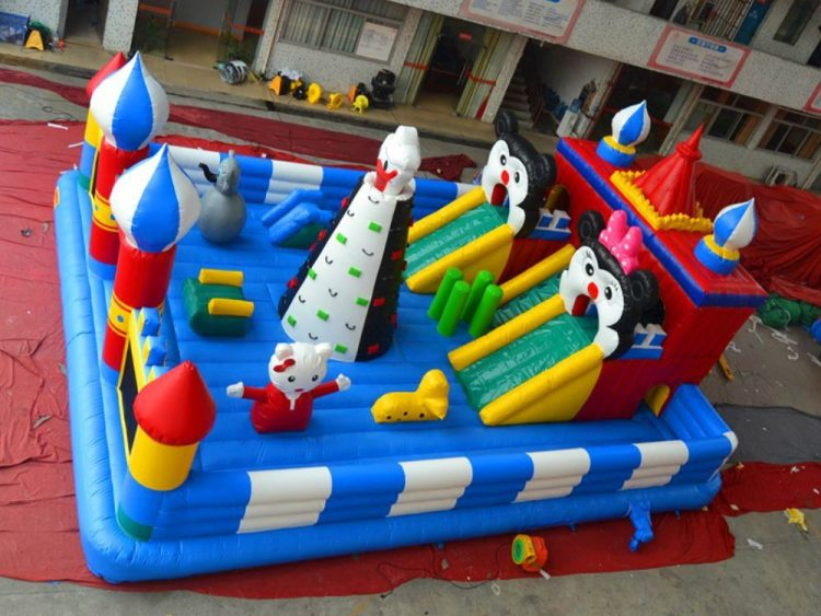 disney mickey mouse inflatable playground