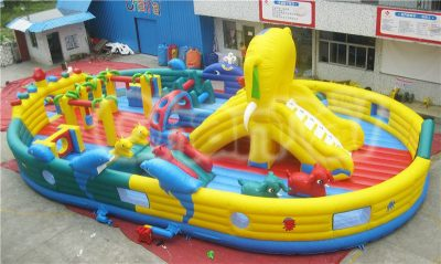 animal kingdom inflatable obstacle playground