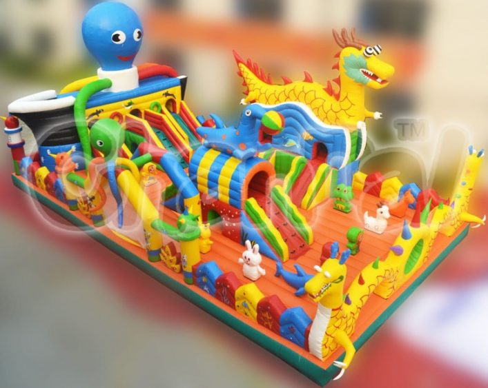 animals wonderland inflatable fun city