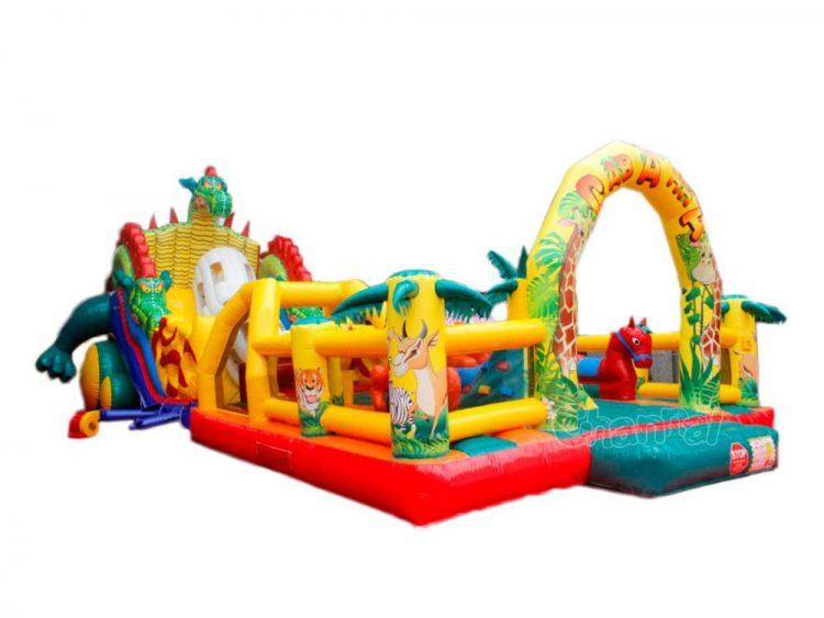 jungle animal inflatable funcity
