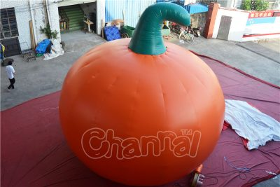giant inflatable pumpkin