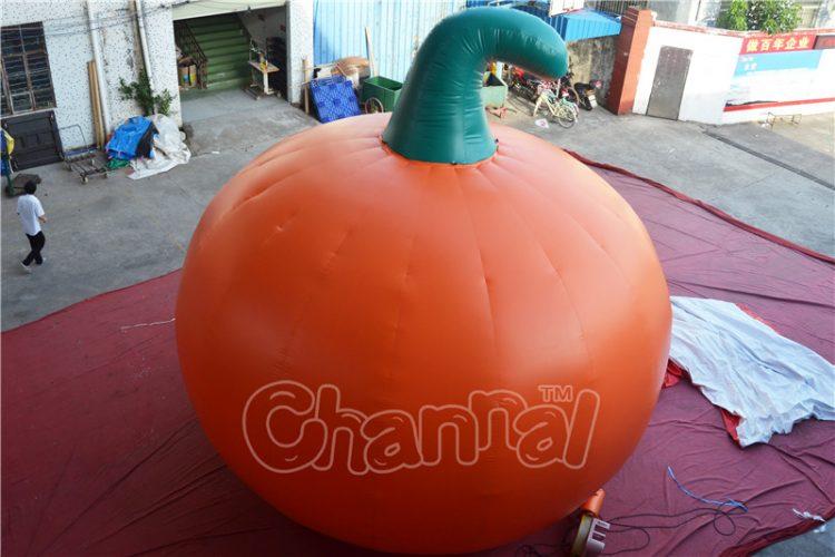 giant inflatable pumpkin