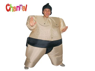 funny fat inflatable sumo costume for wholesale