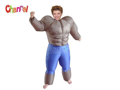 inflatable muscle costume, inflatable the hulk costume