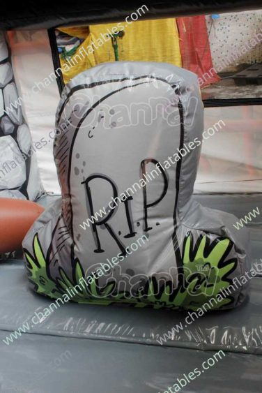 inflatable rip headstone