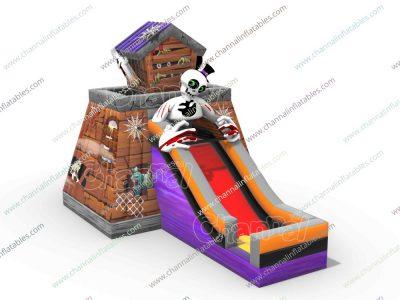 skeleton inflatable combo