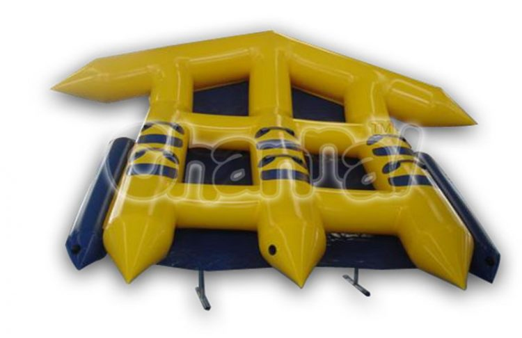 2 person flying tube