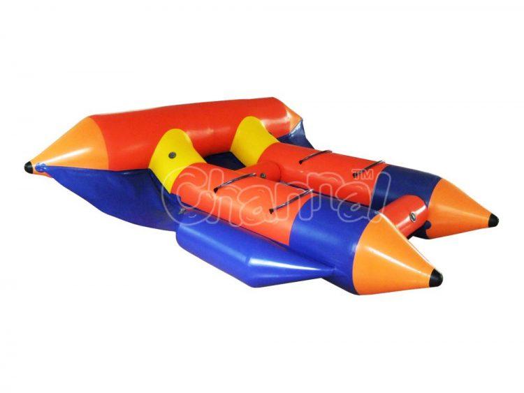 crayon theme inflatable flying fish tube for kids