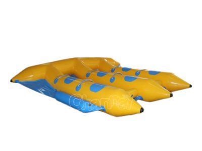 2 person towable inflatable flying fish boat