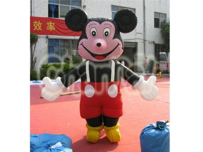 inflatable mickey mouse costume