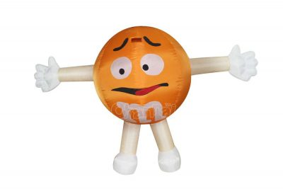 m&m inflatable costume