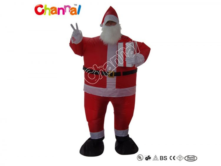 blow up santa costume suit for wholesale
