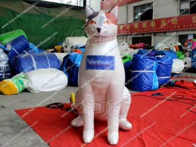 custom giant inflatable cat for sale