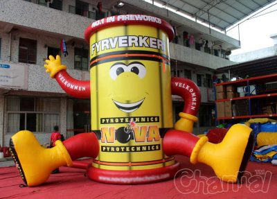 giant advertising inflatable firecracker decoration