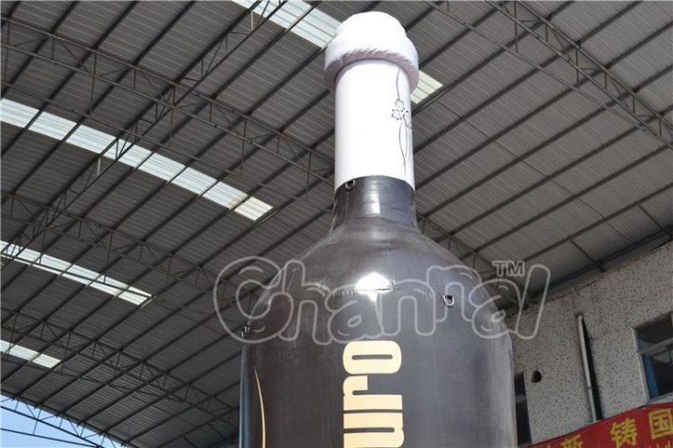 inflatable wine bottle neck