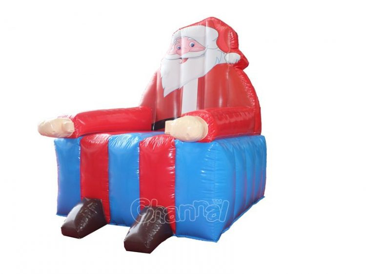 Santa Claus inflatable chair for sale