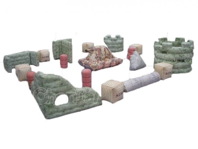 inflatable battle bunker set for sale