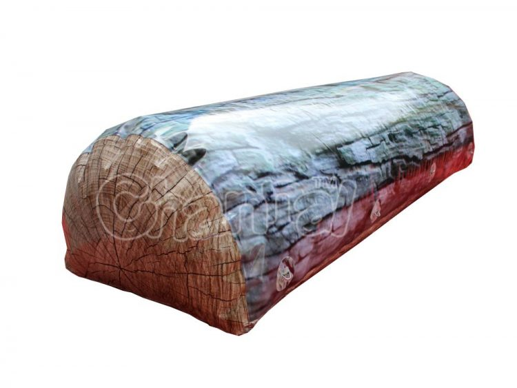 inflatable wood log