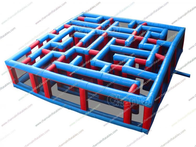 medium size inflatable maze for kids