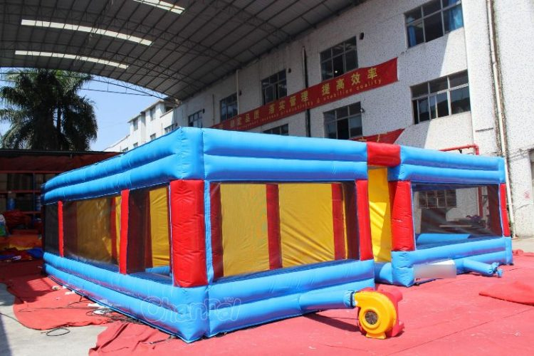 inflatable kids maze with blower