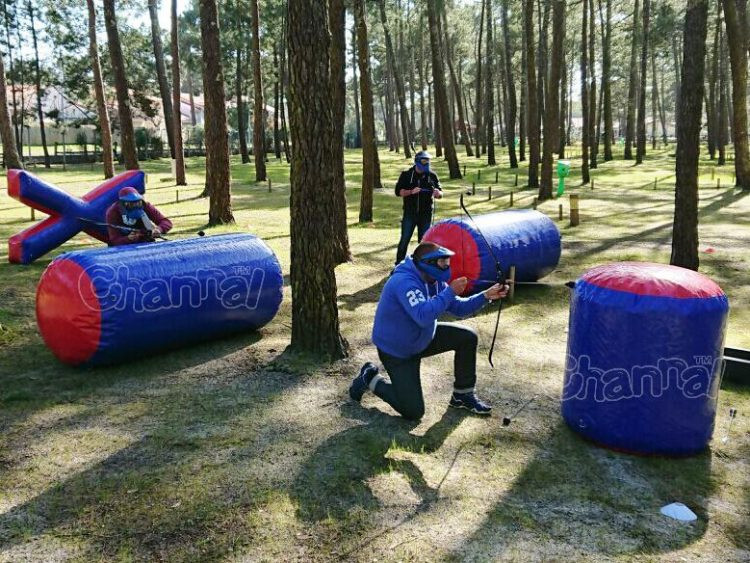 inflatable archery bunker for sale