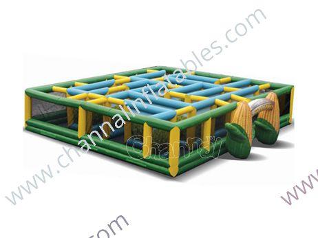 lifelike corn maze
