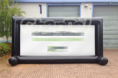 outdoor advertising inflatable screen