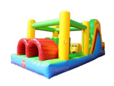 small inflatable obstacle course for little kids