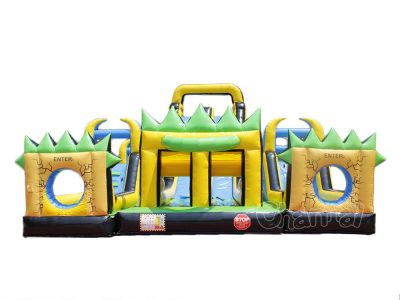 thunder force obstacle course inflatable for sale