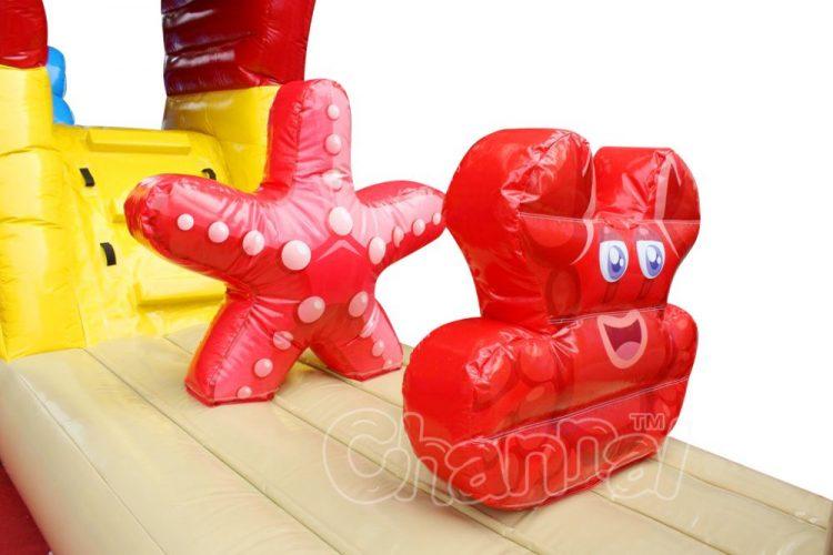 inflatable starfish
