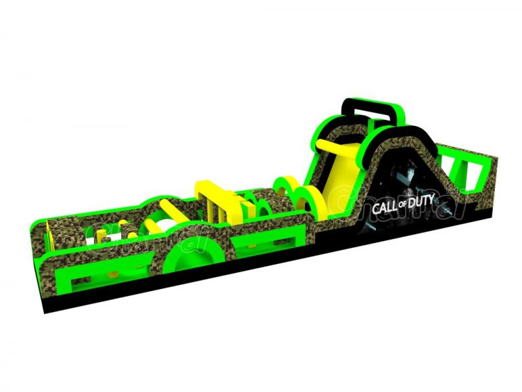 call of duty inflatable obstacle course