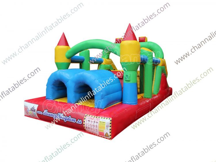 inflatable obstacle course for toddlers and young kids