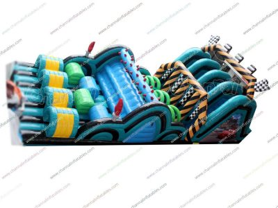disney cars inflatable obstacle course