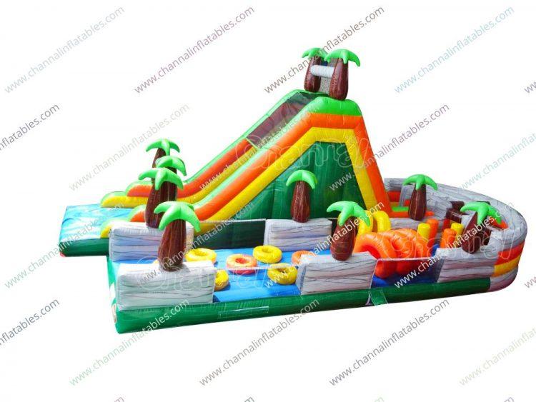jungle u-turn obstacle course