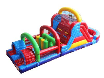 arch inflatable obstacle course