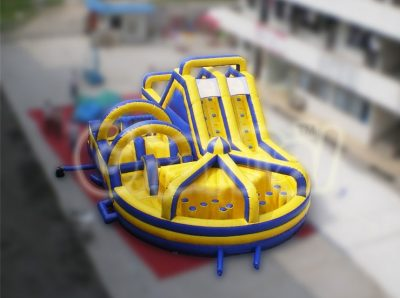 millennium inflatable obstacle course