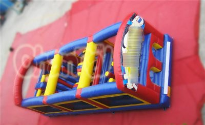 ultimate inflatable obstacle course