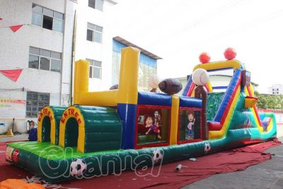 sports teen inflatable obstacle course