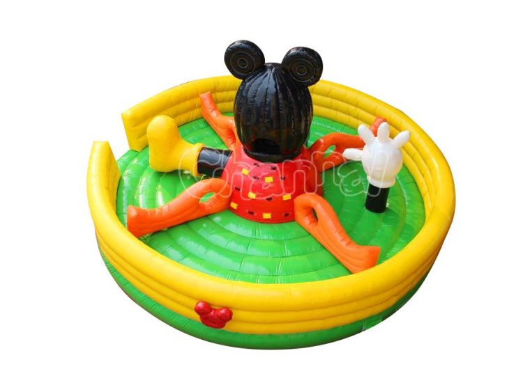 mickey mouse inflatable obstacle playland