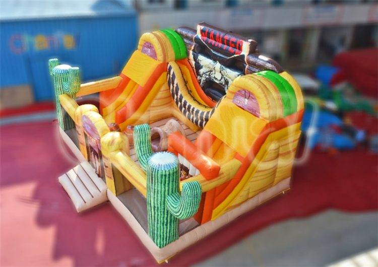 west wanted inflatable obstacle course